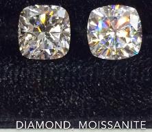 Image of Diamond vs Moissanite
